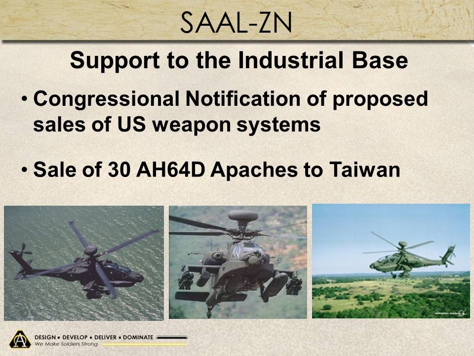 Support to the Industrial Base Support to the Industrial Base
