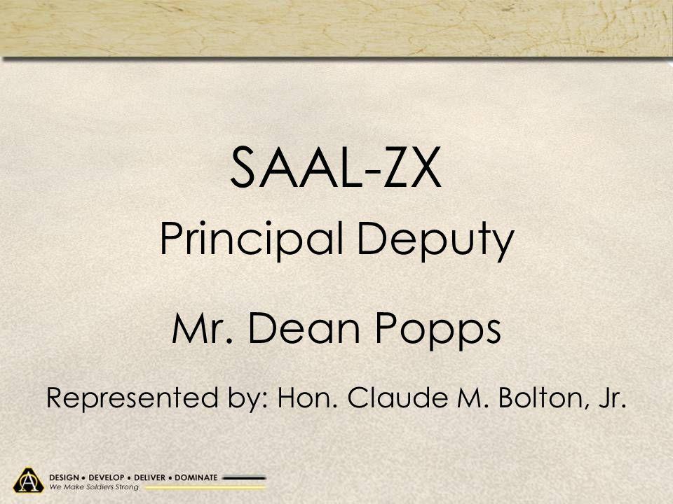 Represented by: Hon. Claude M. Bolton, Jr.