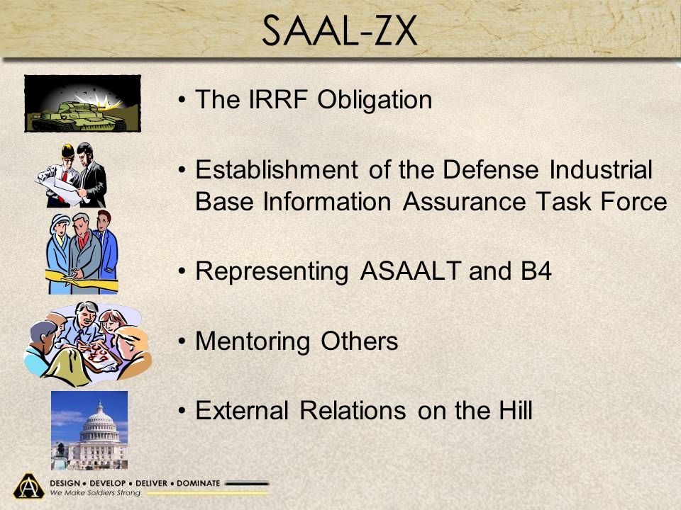 SAAL-ZX The IRRF Obligation