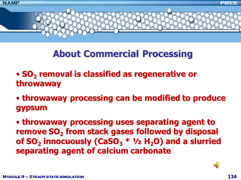About Commercial Processing