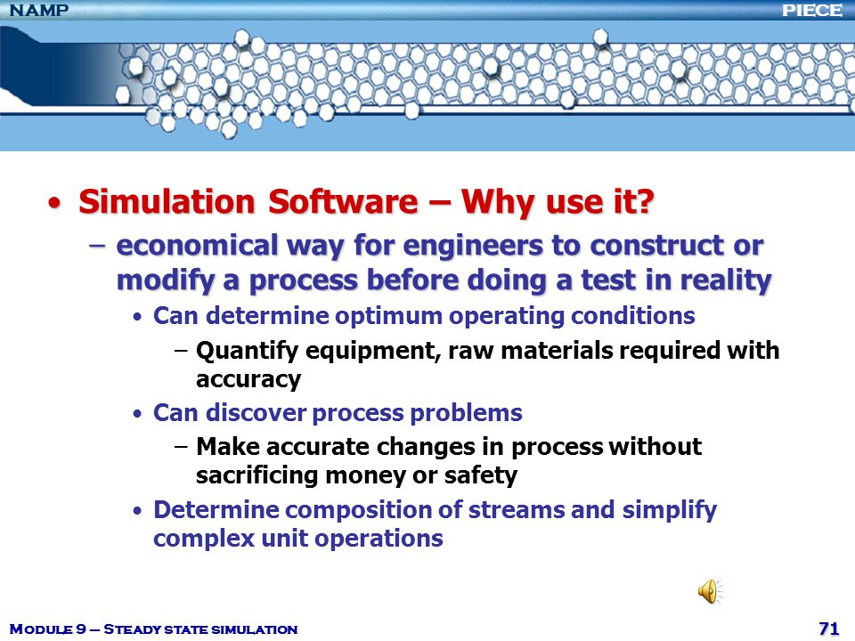 Simulation Software – Why use it