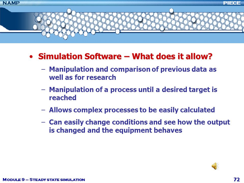 Simulation Software – What does it allow