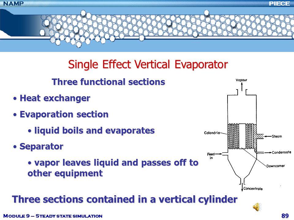 Single Effect Vertical Evaporator