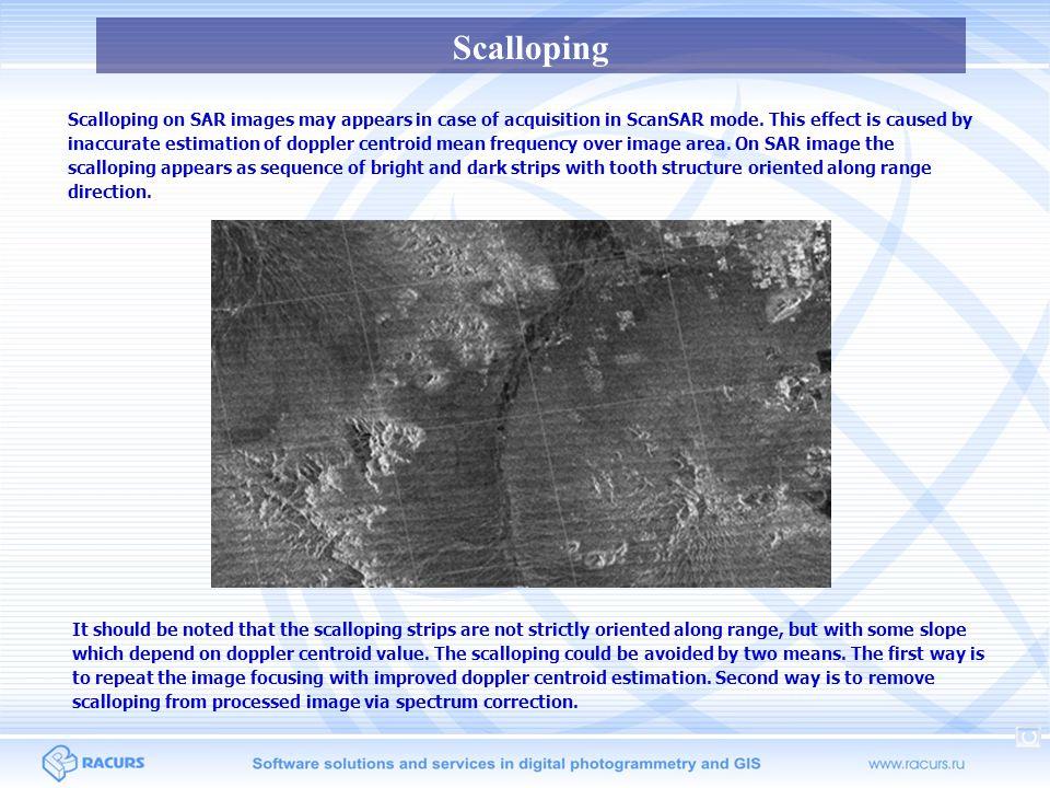 Scalloping