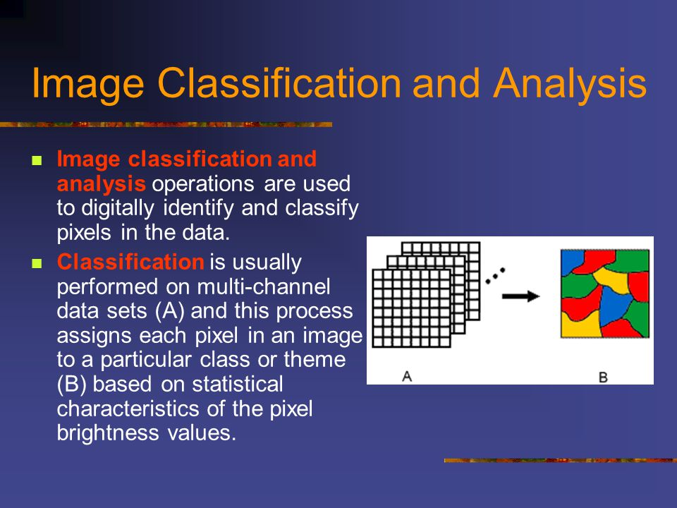 Image Classification and Analysis