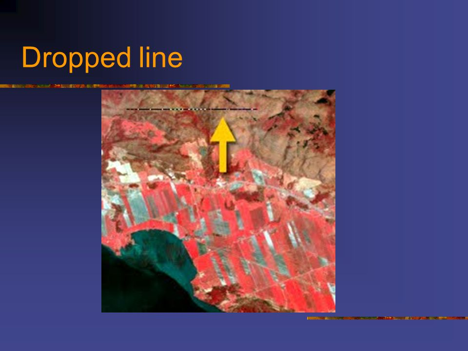 Dropped line