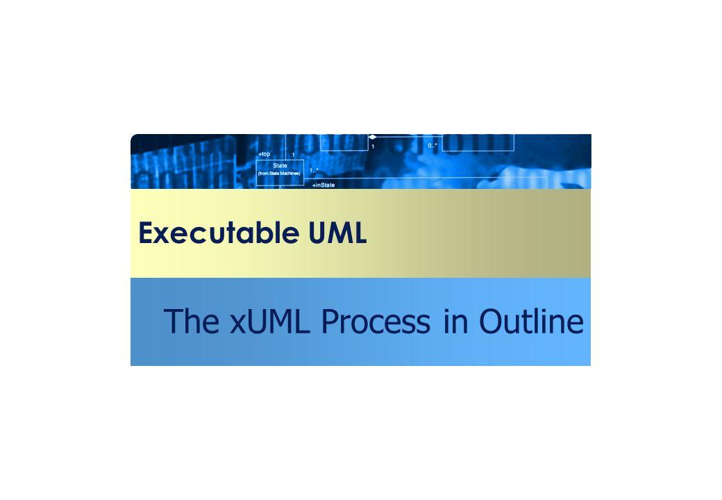 The xUML Process in Outline
