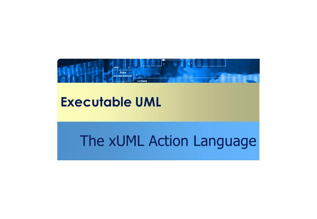 The xUML Action Language
