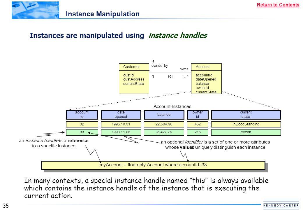 Instance Manipulation