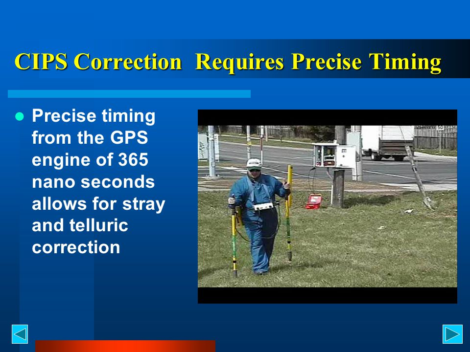 CIPS Correction Requires Precise Timing