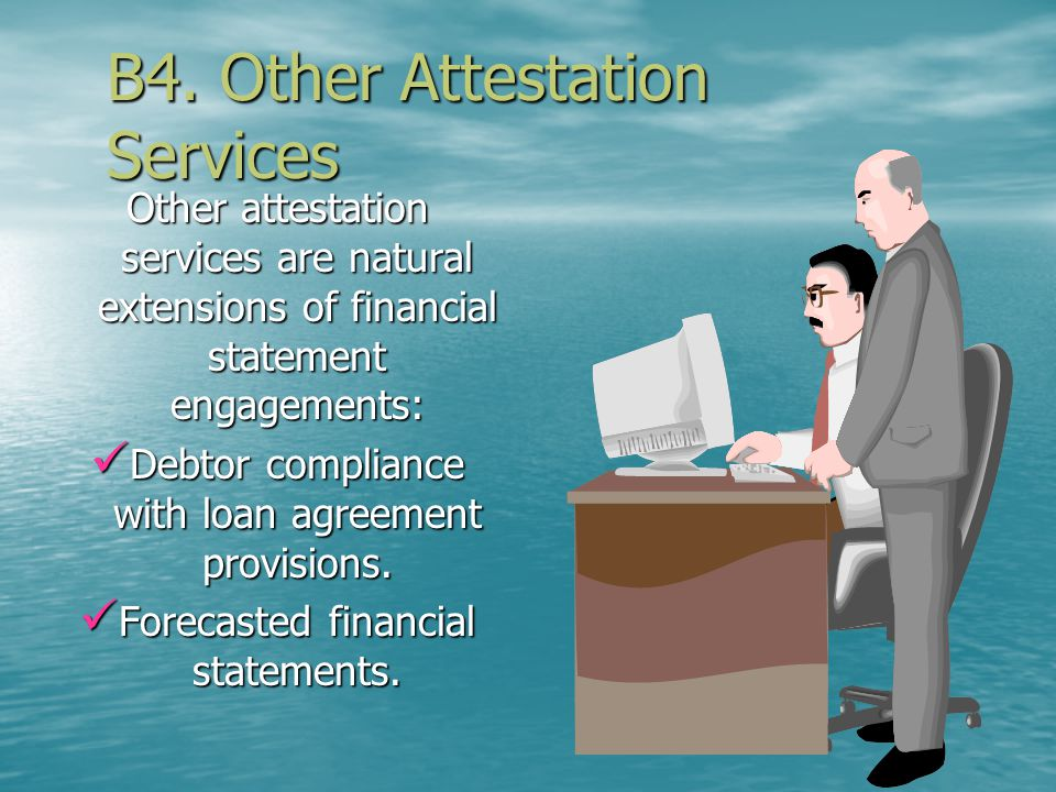 B4. Other Attestation Services