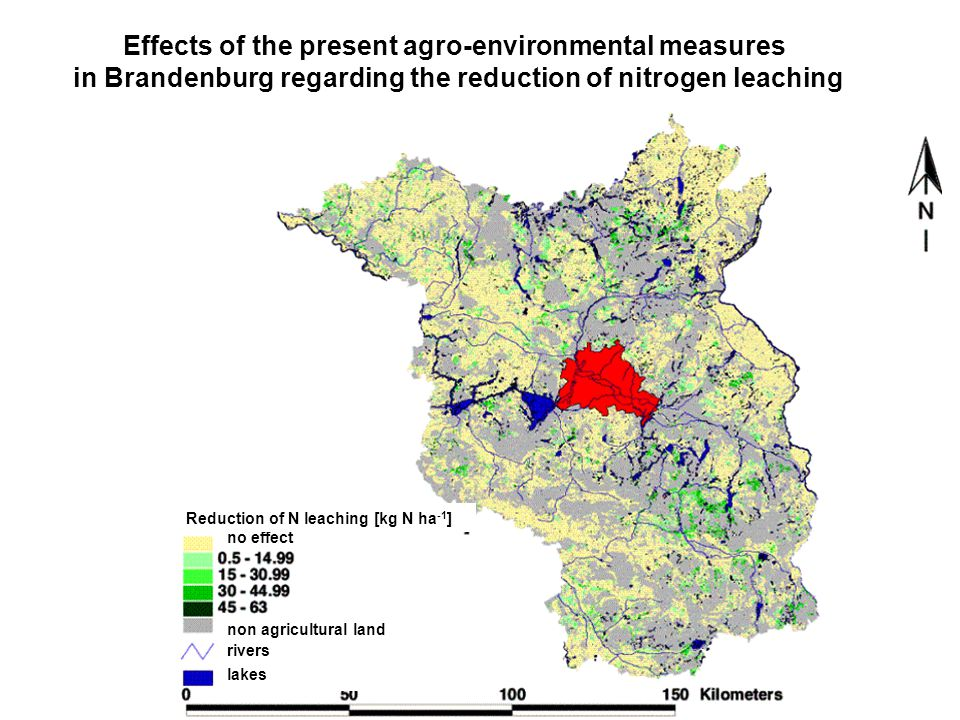 Effects of the present agro-environmental measures