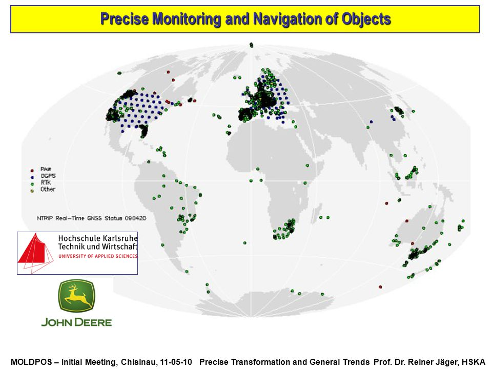 Precise Monitoring and Navigation of Objects
