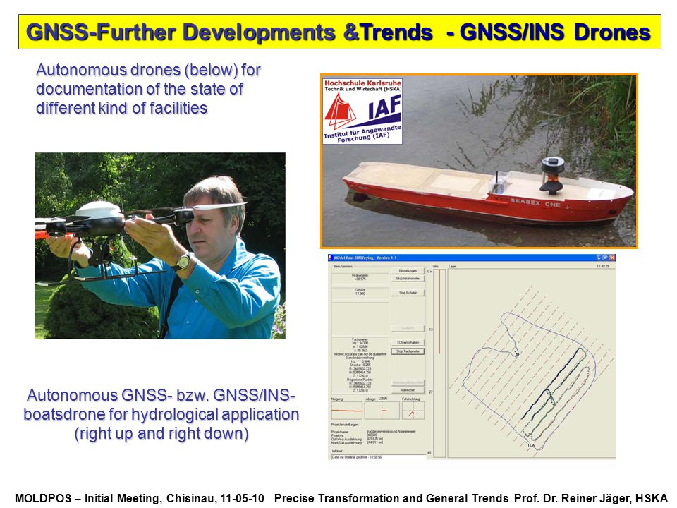 GNSS-Further Developments &Trends - GNSS/INS Drones