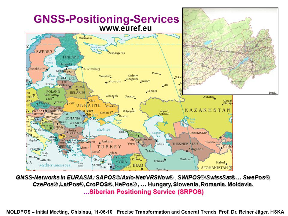 GNSS-Positioning-Services …Siberian Positioning Service (SRPOS)