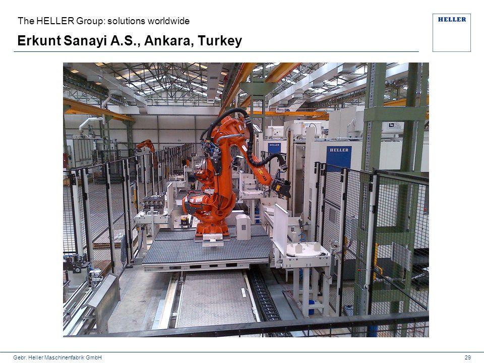 Erkunt Sanayi A.S., Ankara, Turkey