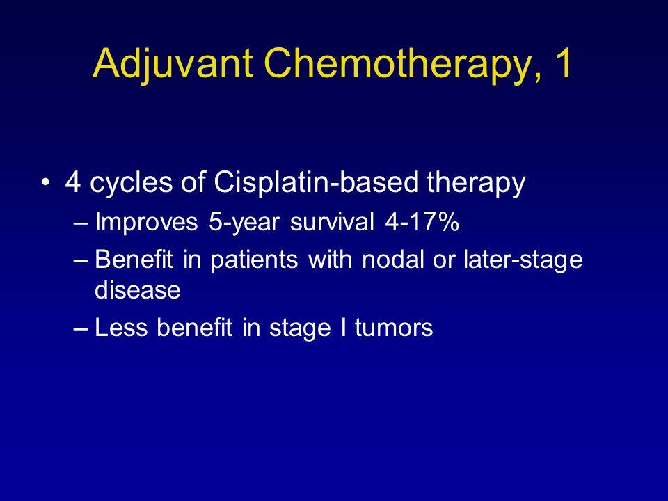 Adjuvant Chemotherapy, 1