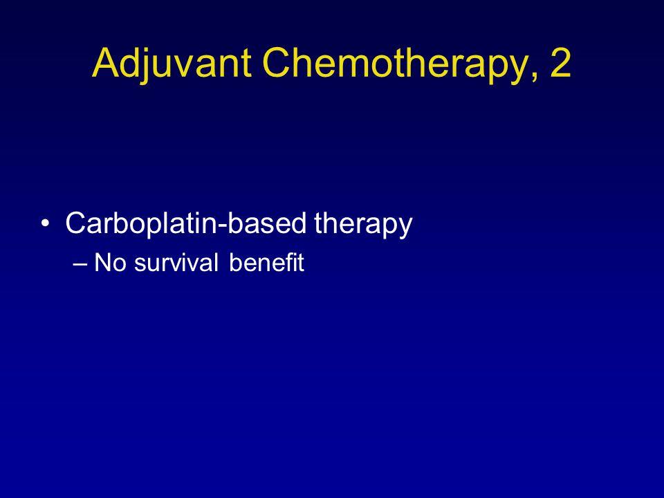 Adjuvant Chemotherapy, 2