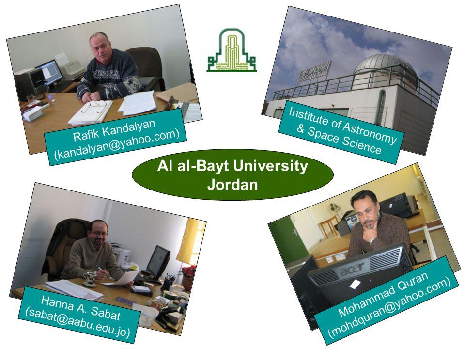 Al al-Bayt University Jordan