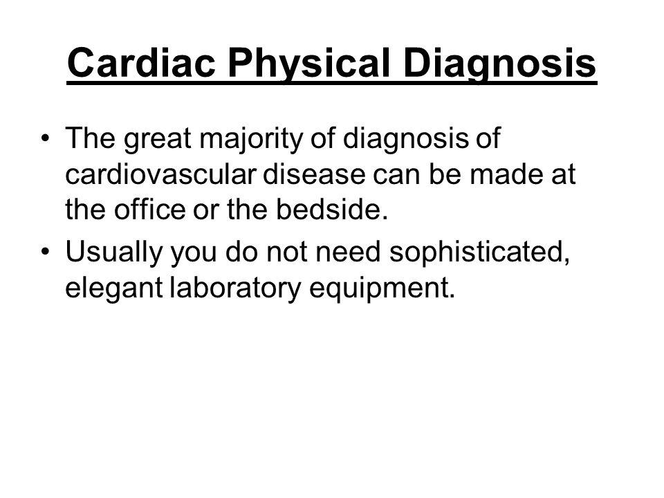Cardiac Physical Diagnosis