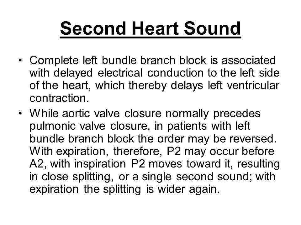 Second Heart Sound