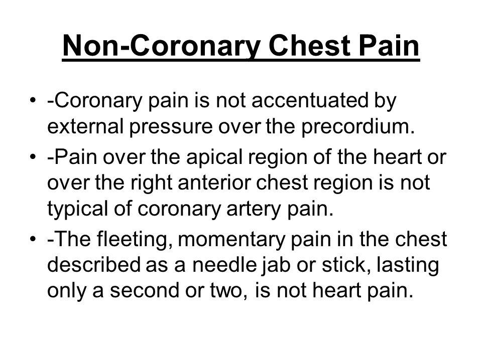 Non-Coronary Chest Pain