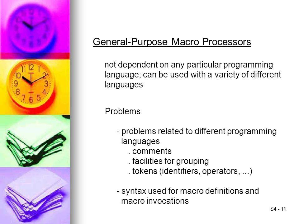 General-Purpose Macro Processors