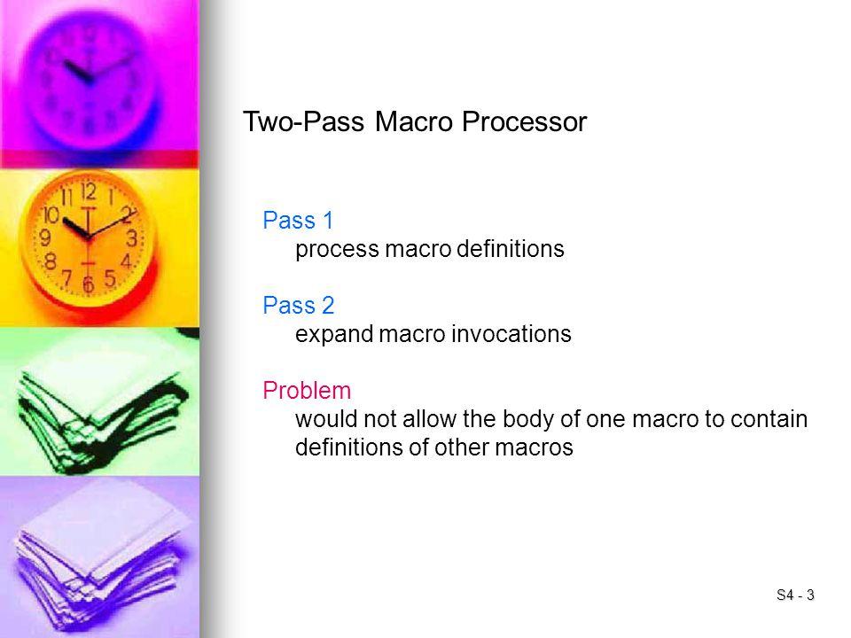 Two-Pass Macro Processor