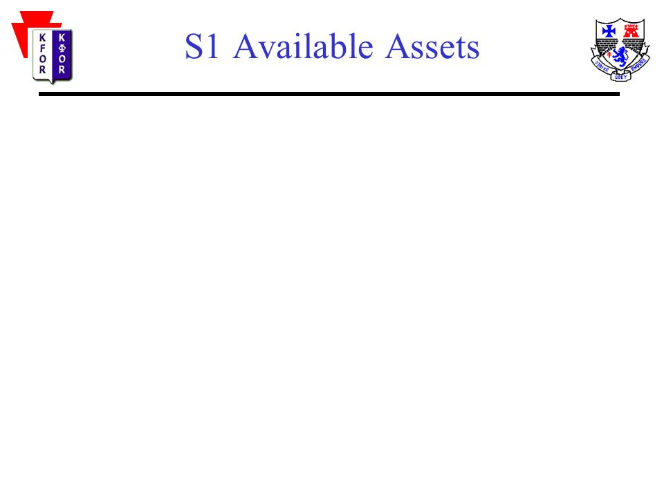 S1 Available Assets