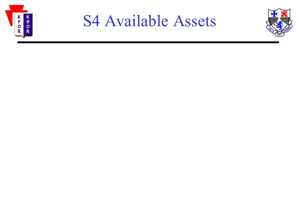 S4 Available Assets
