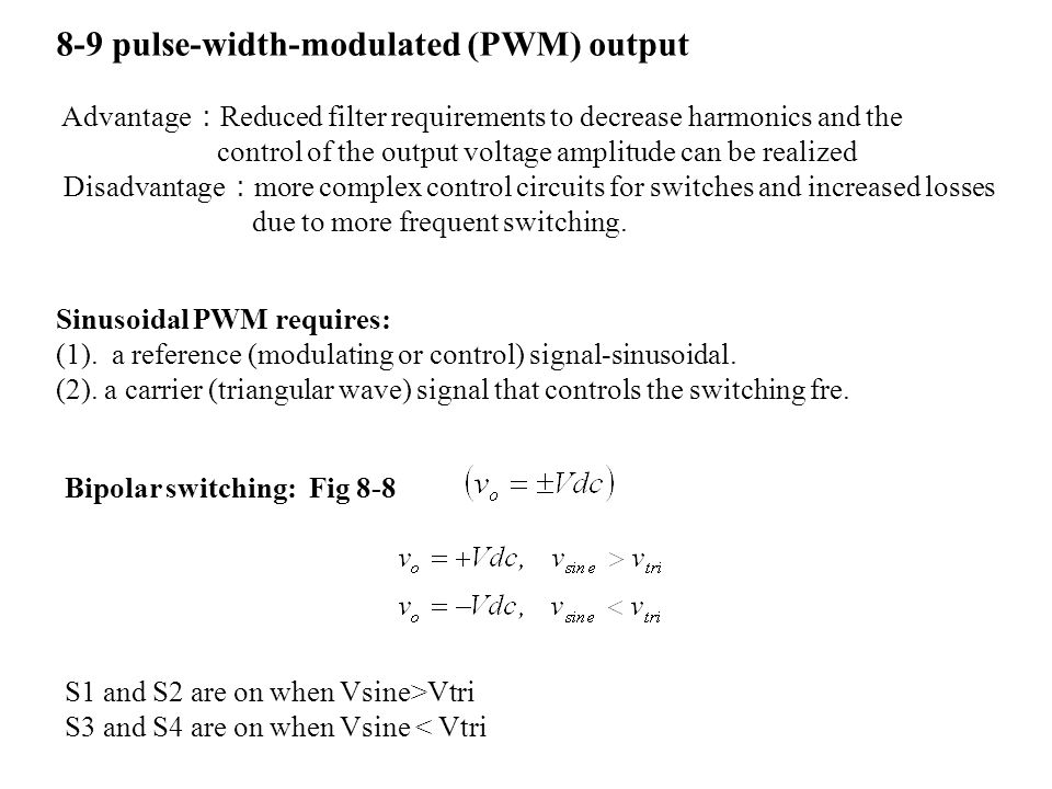 8-9 pulse-width-modulated (PWM) output