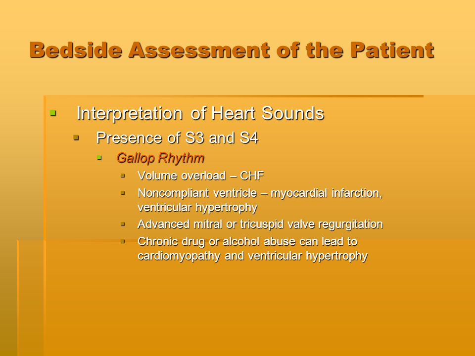Bedside Assessment of the Patient