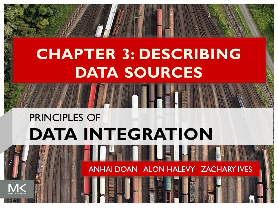 CHAPTER 3: DESCRIBING DATA SOURCES