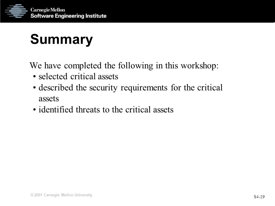 Summary We have completed the following in this workshop: