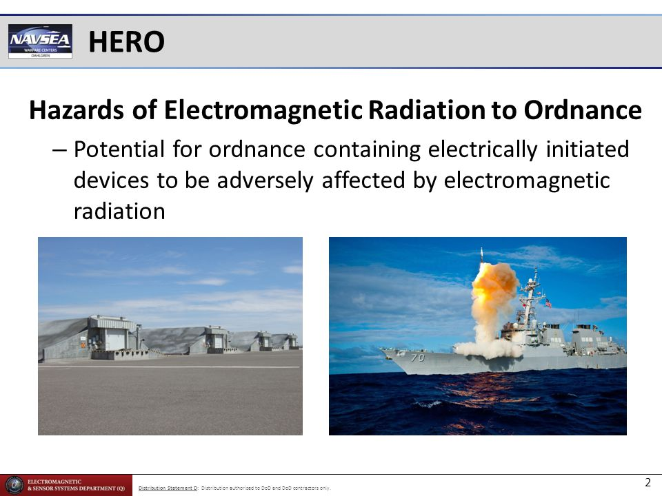 Hazards of Electromagnetic Radiation to Ordnance
