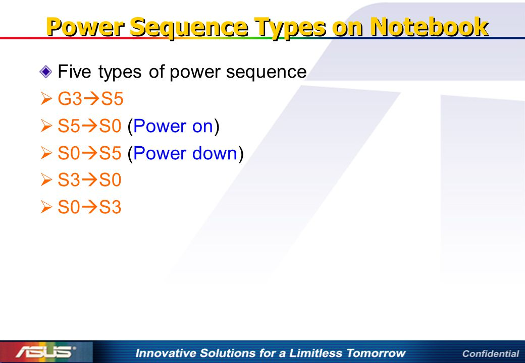 Power Sequence Types on Notebook