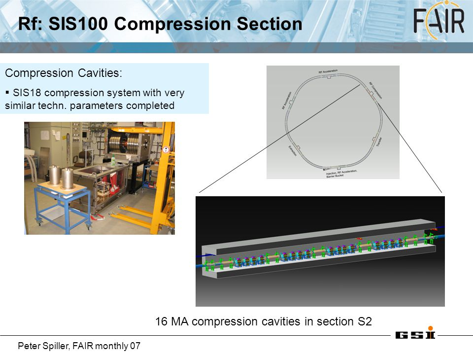 Rf: SIS100 Compression Section