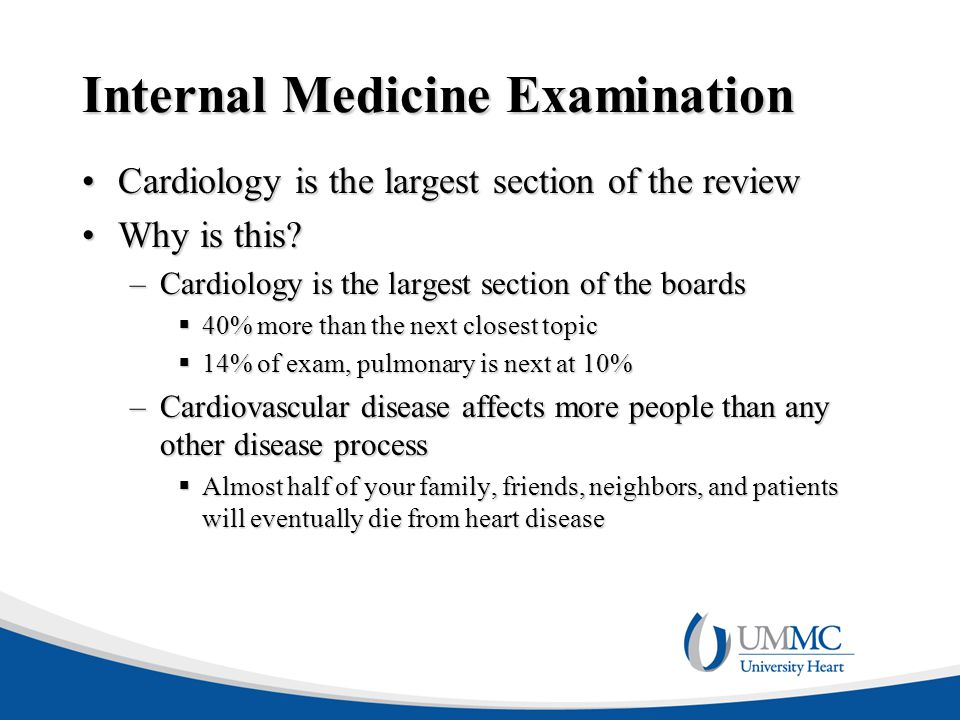 Internal Medicine Examination
