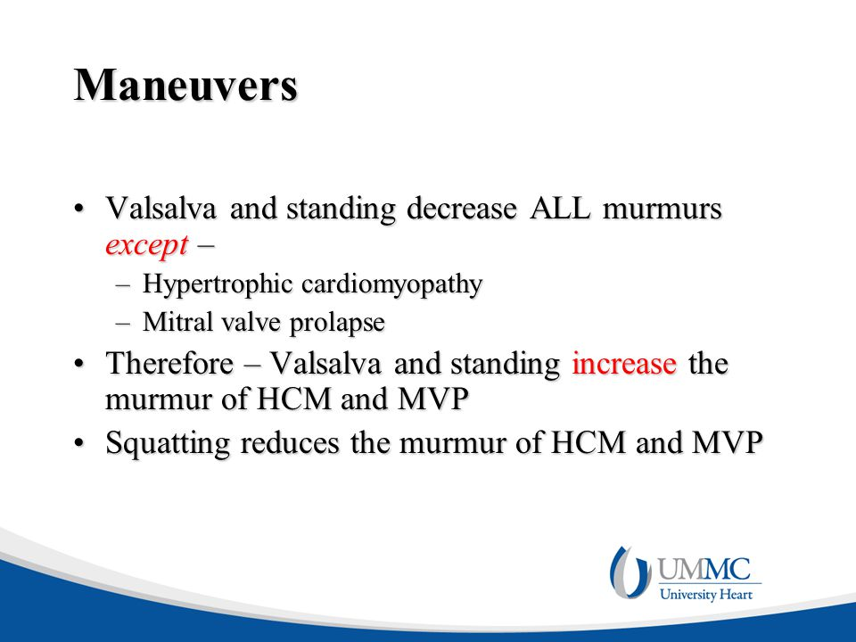 Maneuvers Valsalva and standing decrease ALL murmurs except –