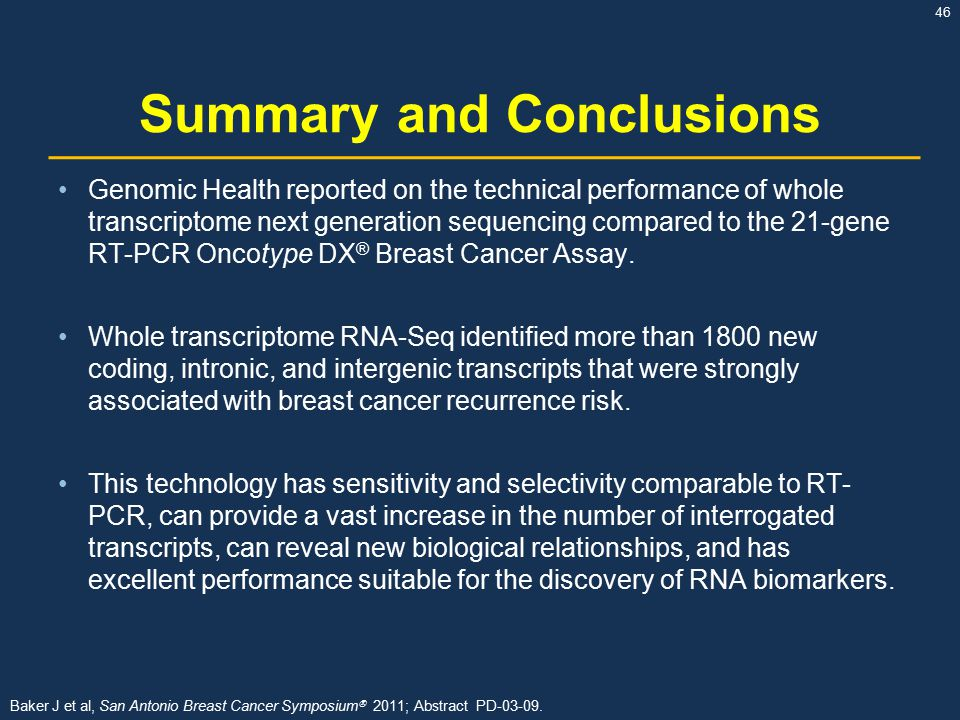 For the abstract 2009 breast cancer symposium commit