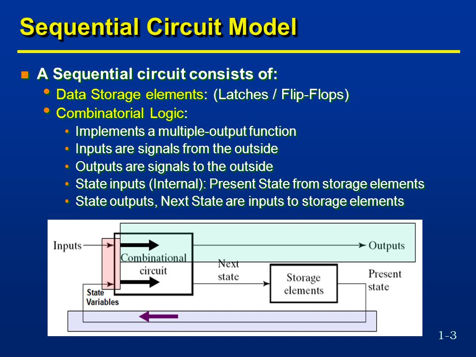 Sequential Circuit Model