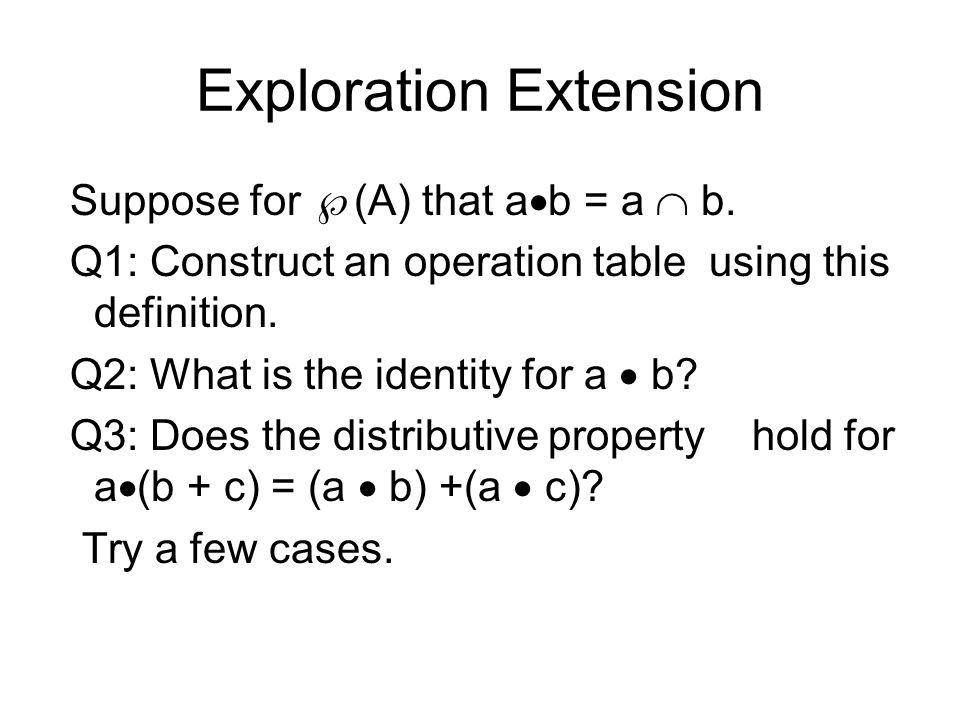 Exploration Extension