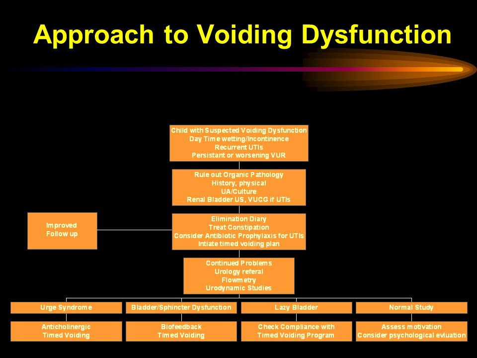 Approach to Voiding Dysfunction