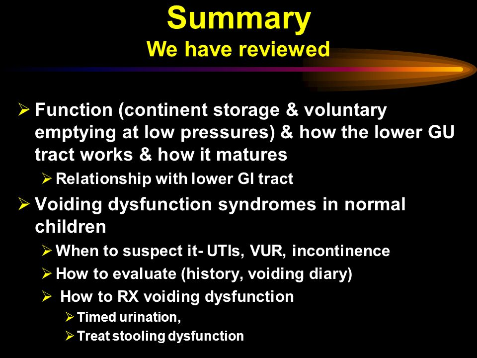 Summary We have reviewed