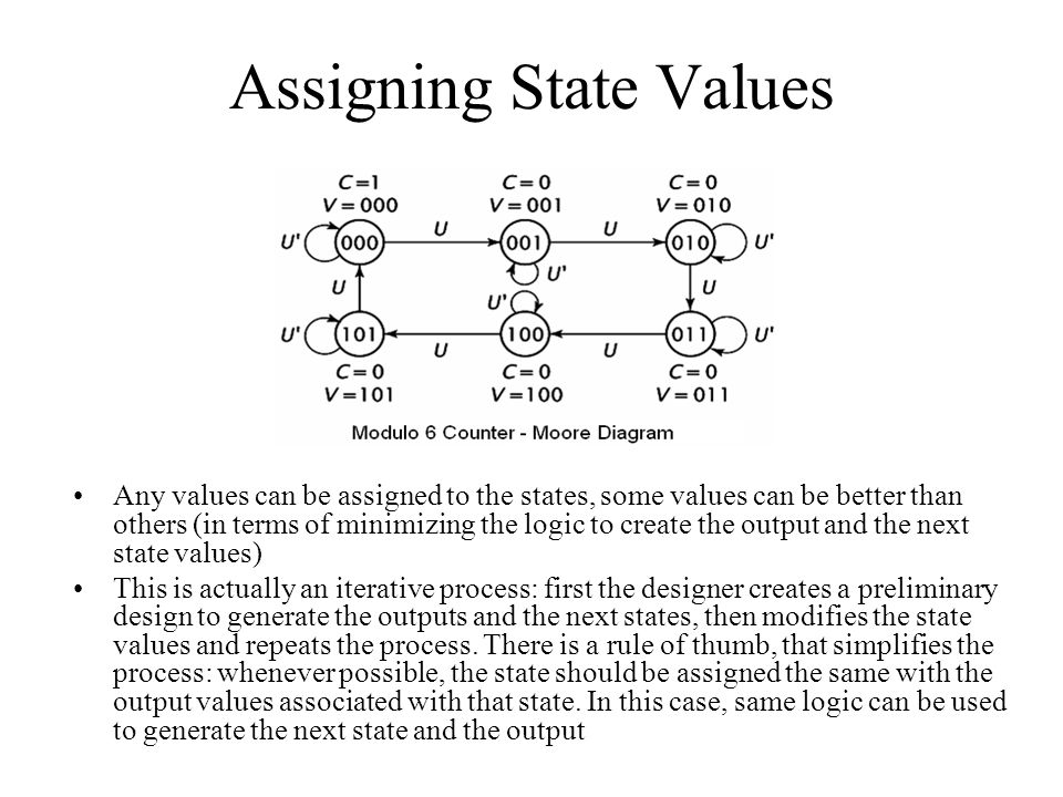 Assigning State Values