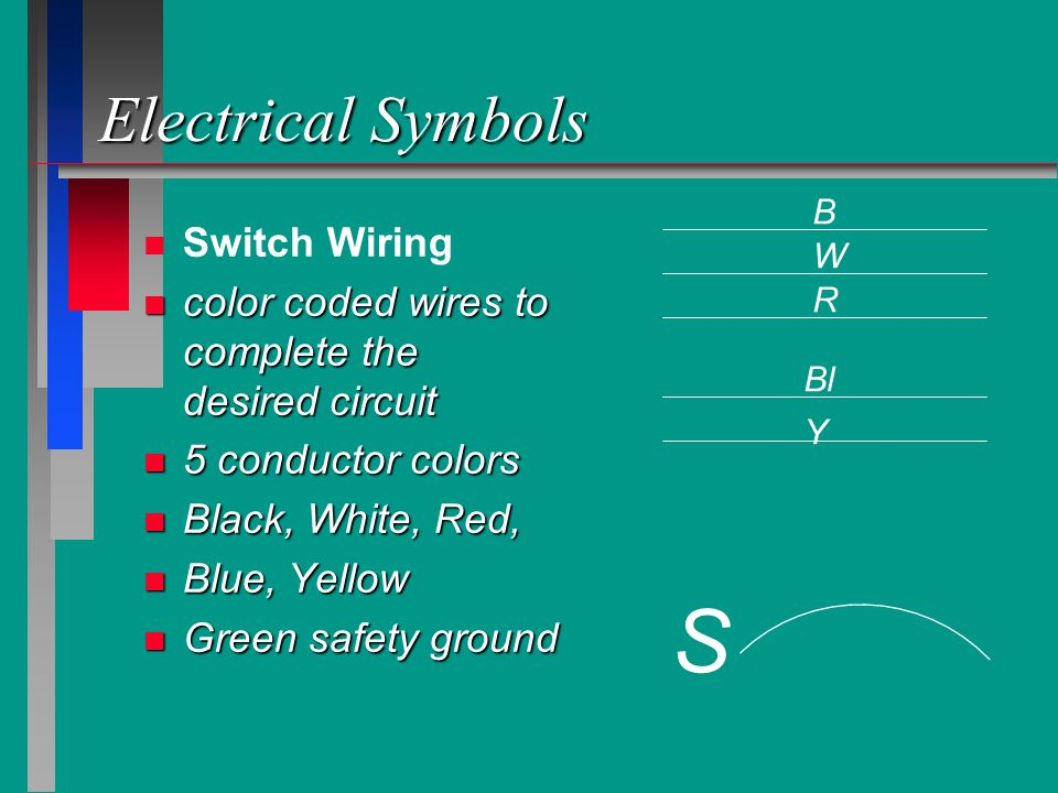 S Electrical Symbols Switch Wiring