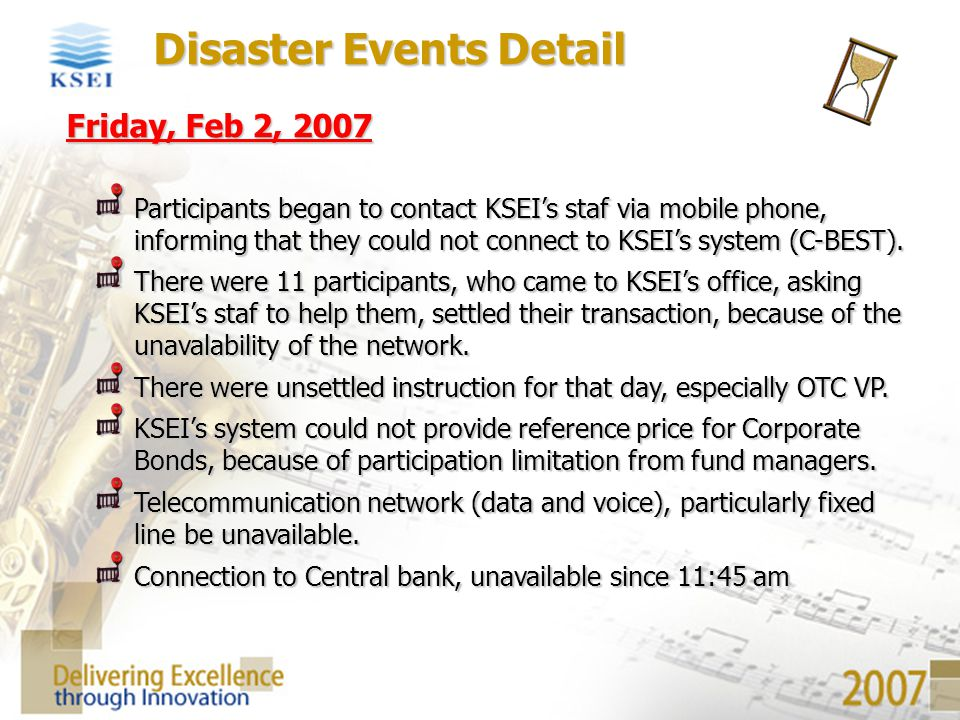 Disaster Events Detail
