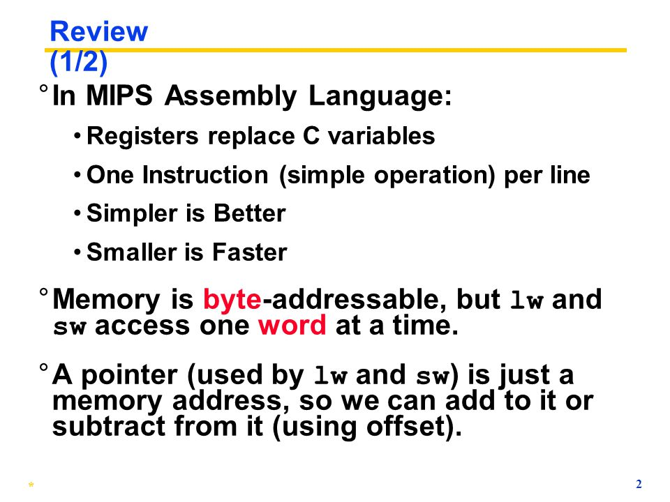 In MIPS Assembly Language: