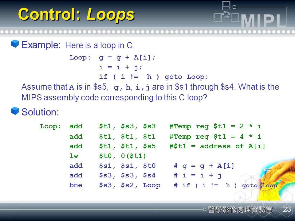 Control: Loops