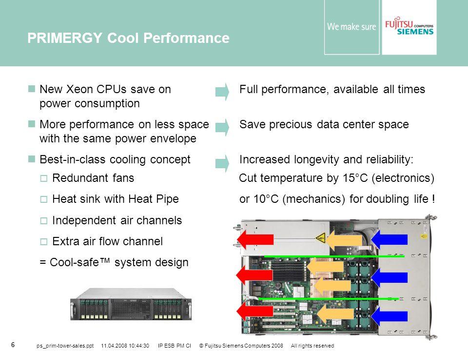 PRIMERGY Cool Performance